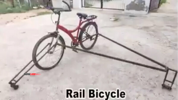 Indian Railways bicycle