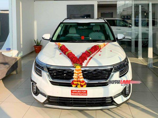 Kia Seltos connected car sales