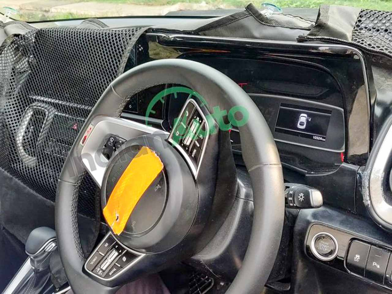 Kia Sonet steering wheel