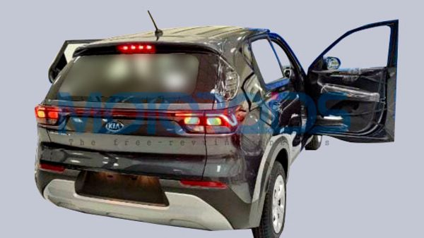 Kia Sonet production spec