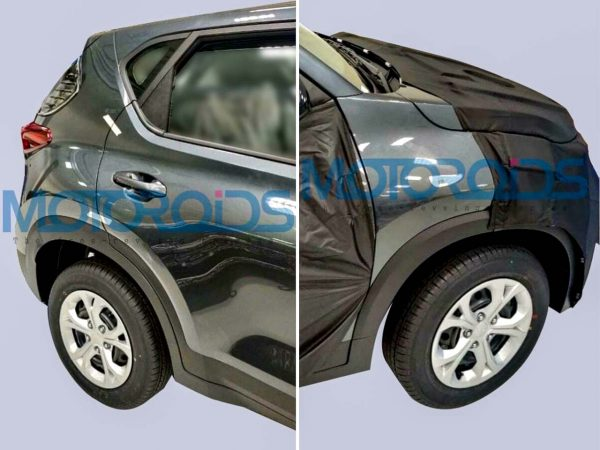 Kia Sonet body panels