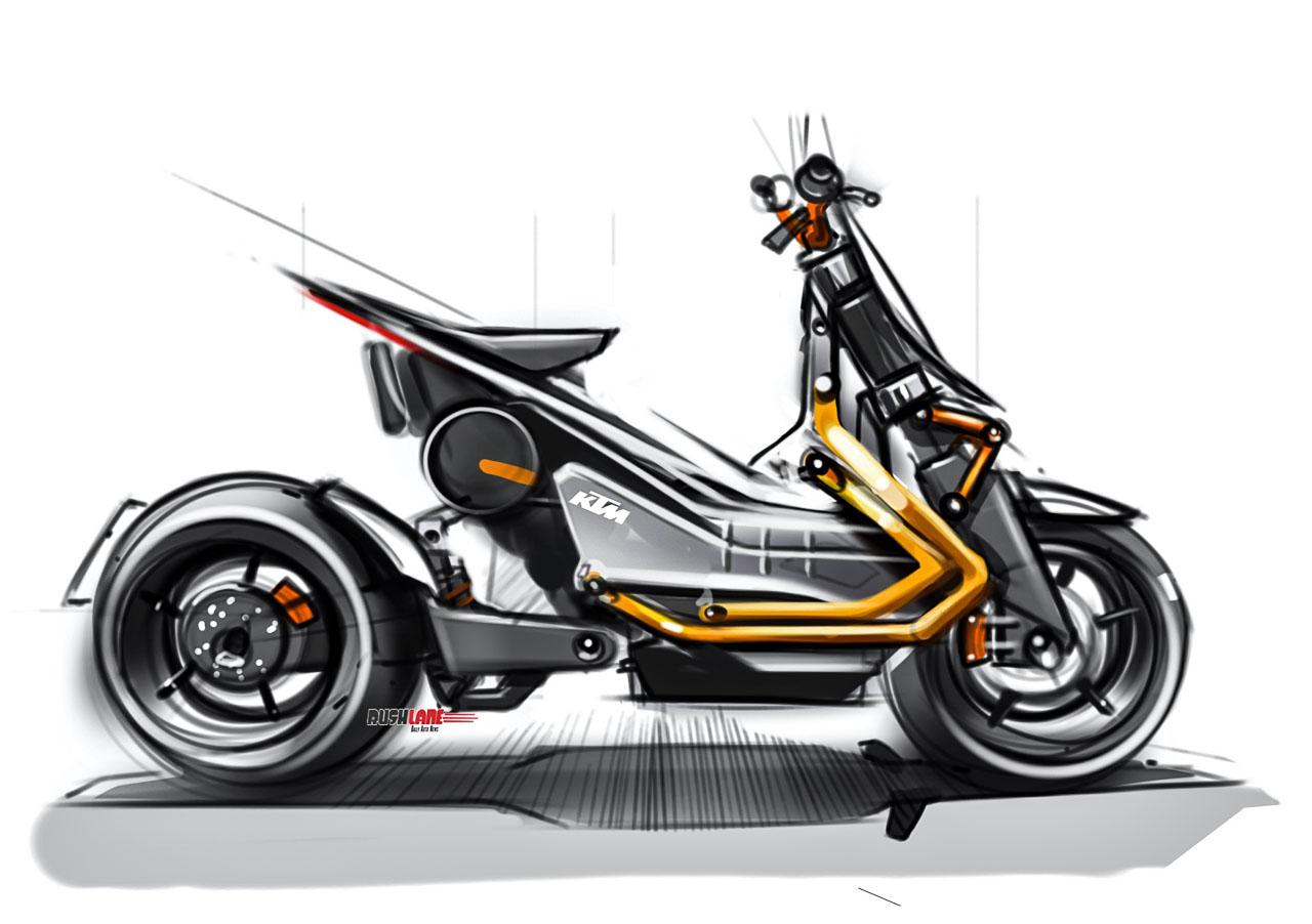 KTM EMotion Electric scooter