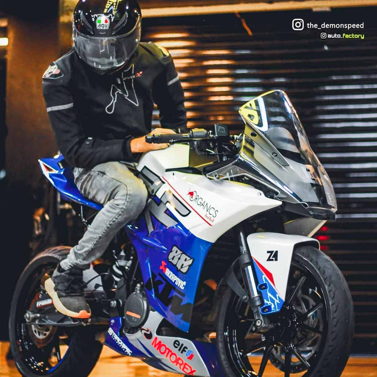 Ktm Rc 200 Modified By Owner In Kerala Gets Styling Upgrade New Colour