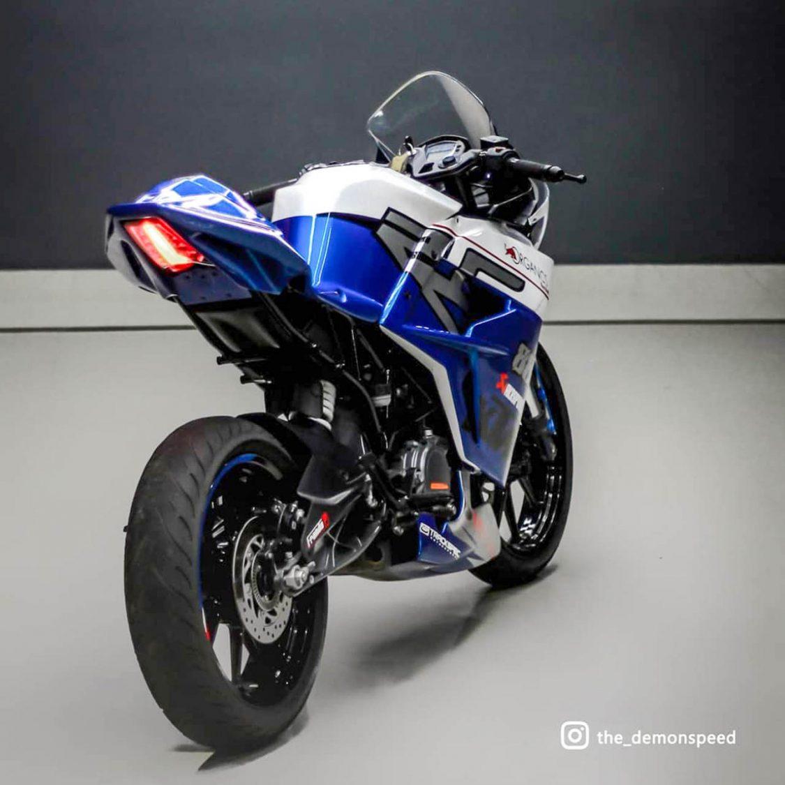 KTM RC 200 modified Kerala