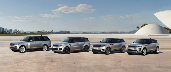 2020MY Land Rover Range Rover portfolio