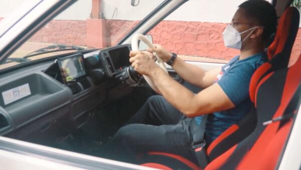 Maruti 800 Modified electric car