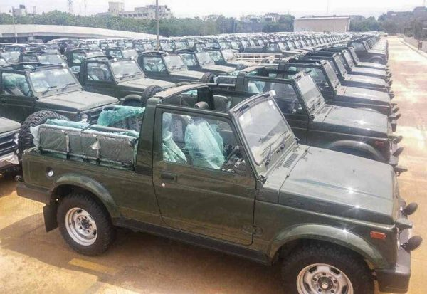 Maruti Gypsy for Indian Army