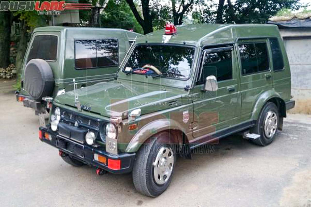 Over 700 Units Of Bs4 Maruti Gypsy 4x4 Delivered To Indian Army In June 2020
