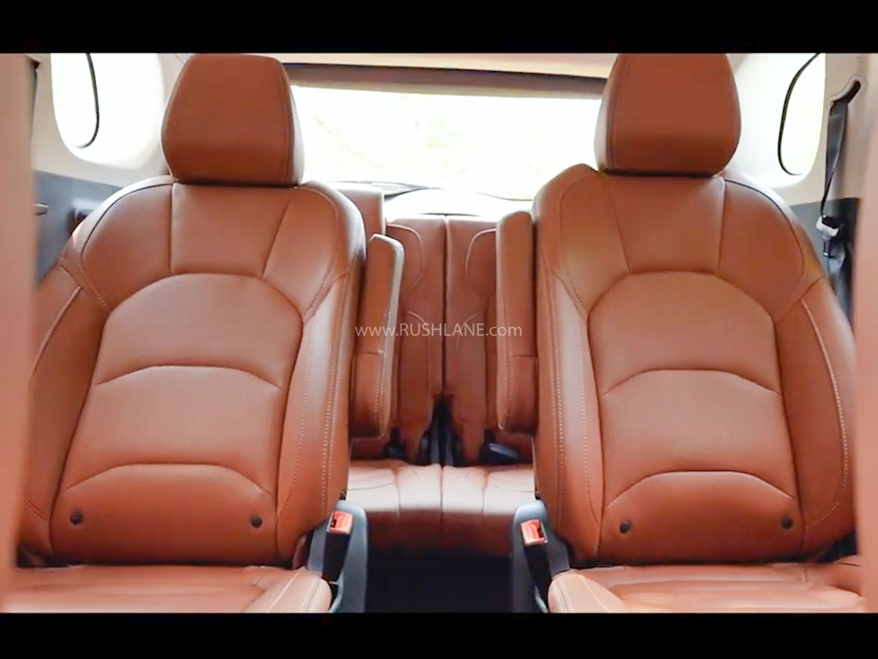 MG Hector Plus Captain Seats in Brown Leather – Teaser Video