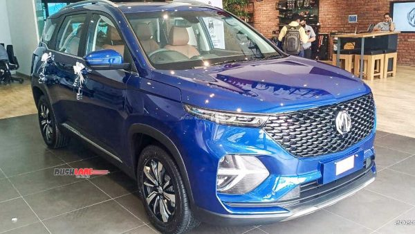 MG Hector Plus top variant