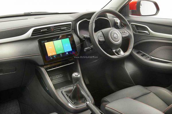 MG ZS Facelift SUV