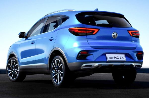 MG ZS Facelift SUV