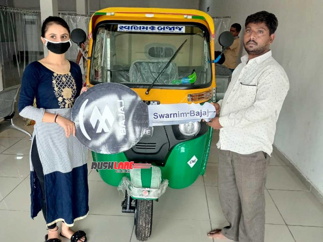 New Rickshaw sales BS6