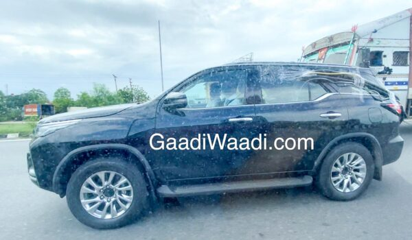 New Fortuner Facelift BS6