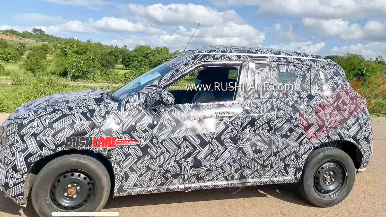 2020 - [Nissan] SUV EM2 Nissan-magnite-spied-testing-india-suv-small-1