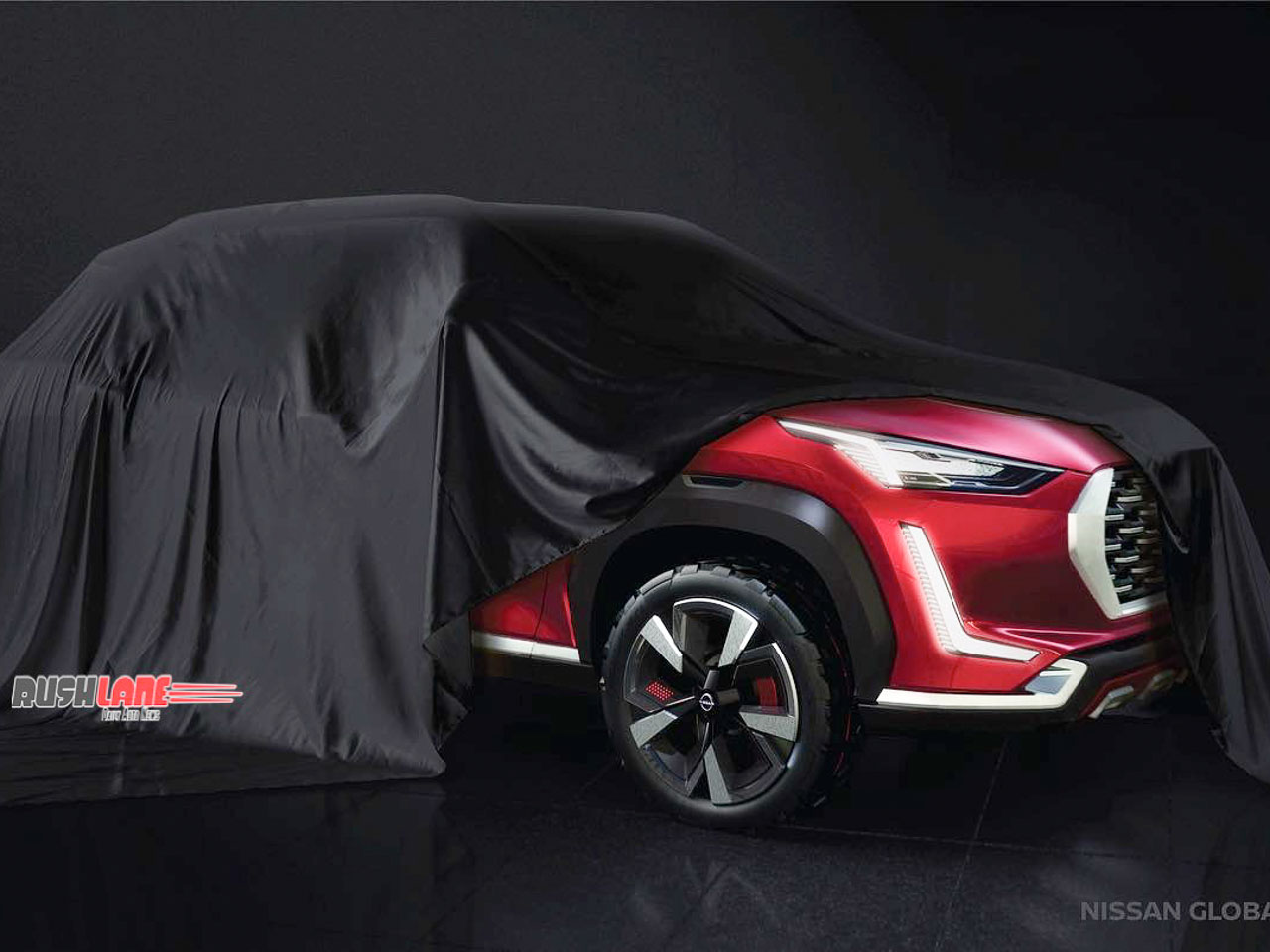 Nissan Magnite SUV LED headlights, alloys revealed officially