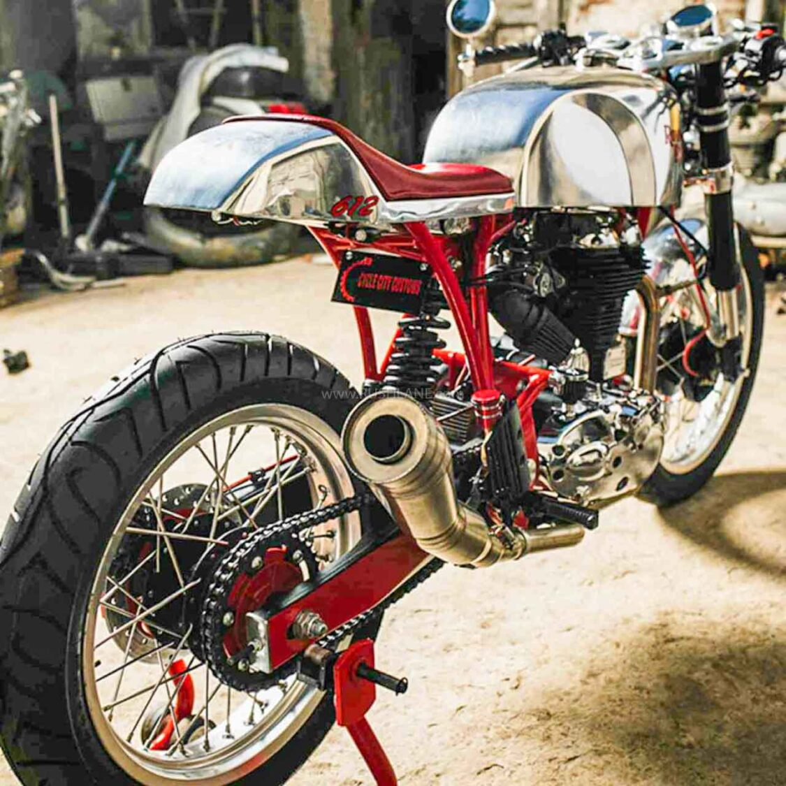 Royal Enfield Classic 500 Modified