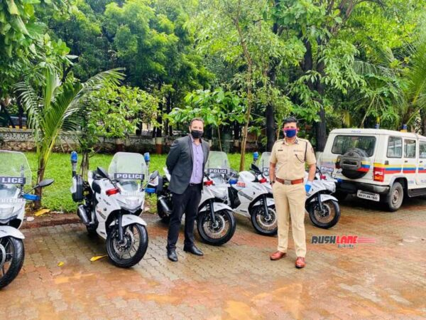 Suzuki Gixxer 250 for Mumbai Police