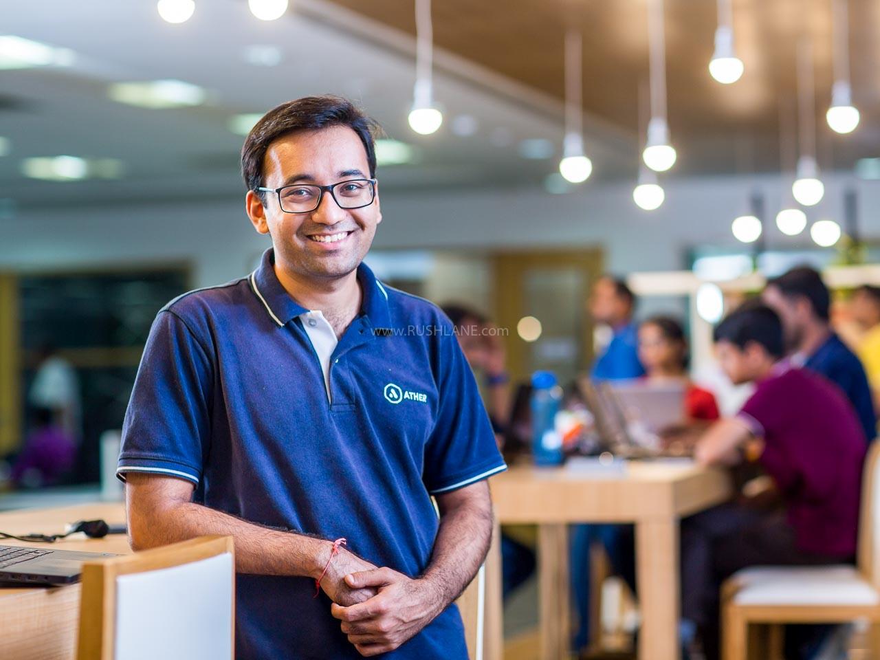 Tarun Mehta, CEO, Ather Energy