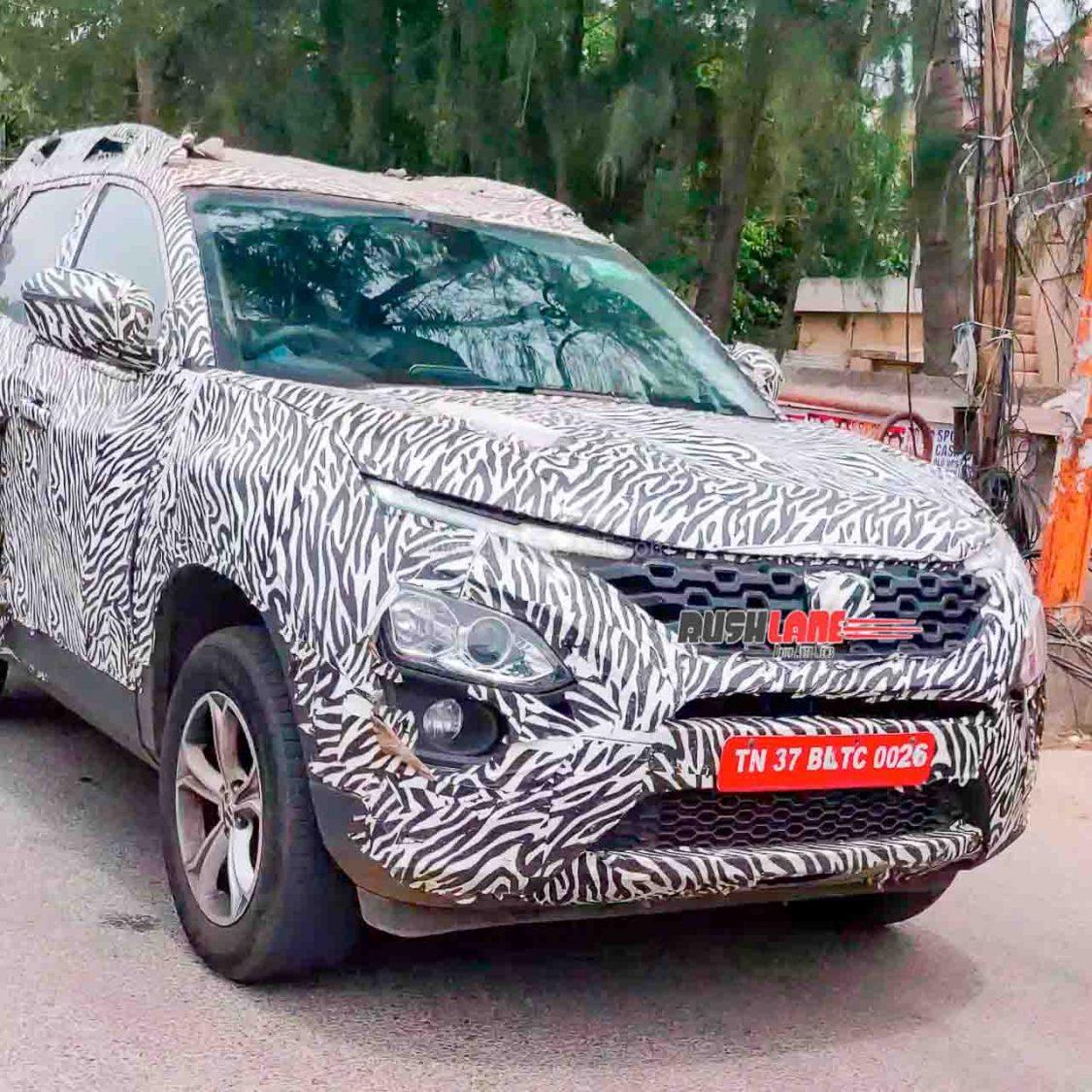 Tata Gravitas SUV spied in Coimbatore