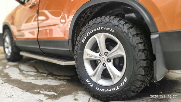 Tata Harrier off-road tyres