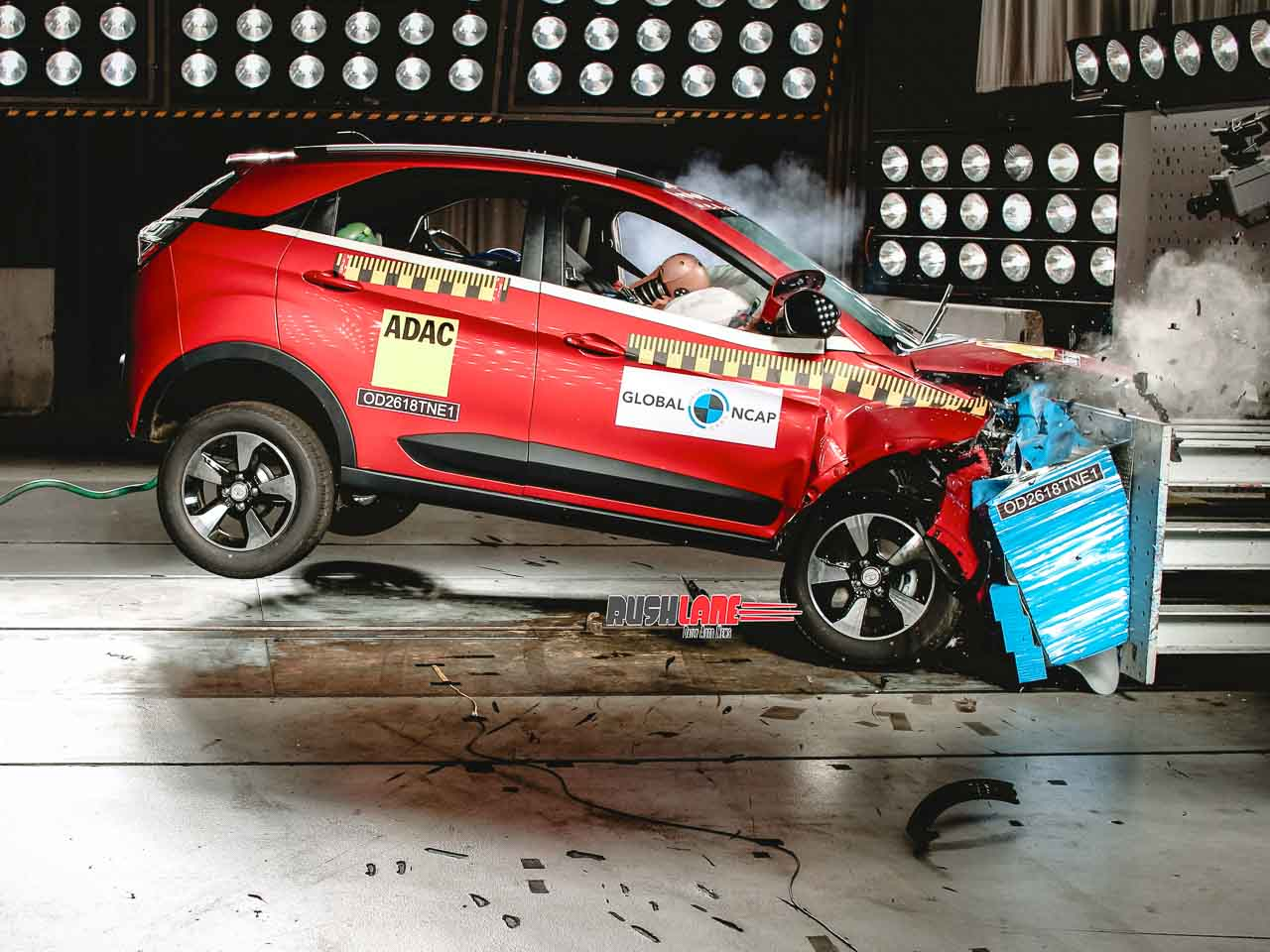 Tata Nexon became first Indian car to score 5 Star safety rating in Dec 2018