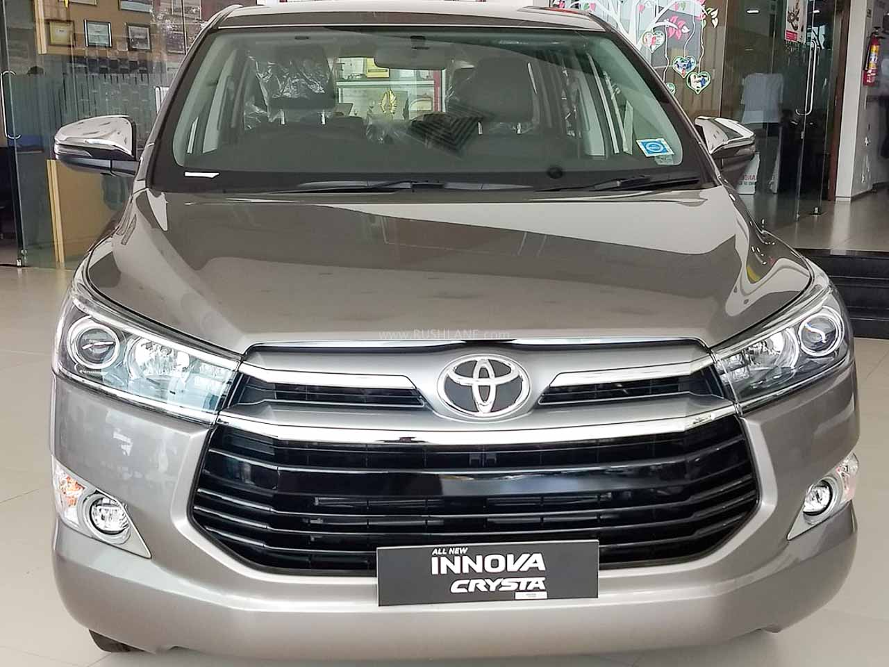 Toyota Innova Crysta, Fortuner help increase company sales in June 2020