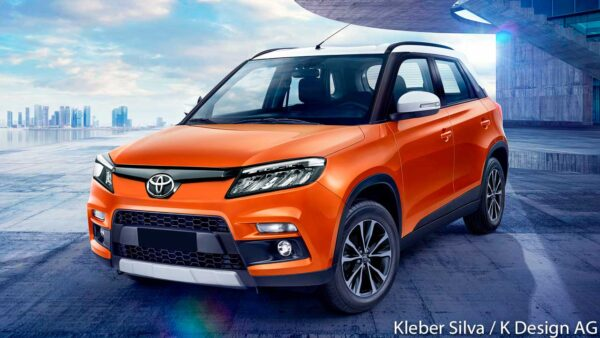Toyota Urban Cruiser render