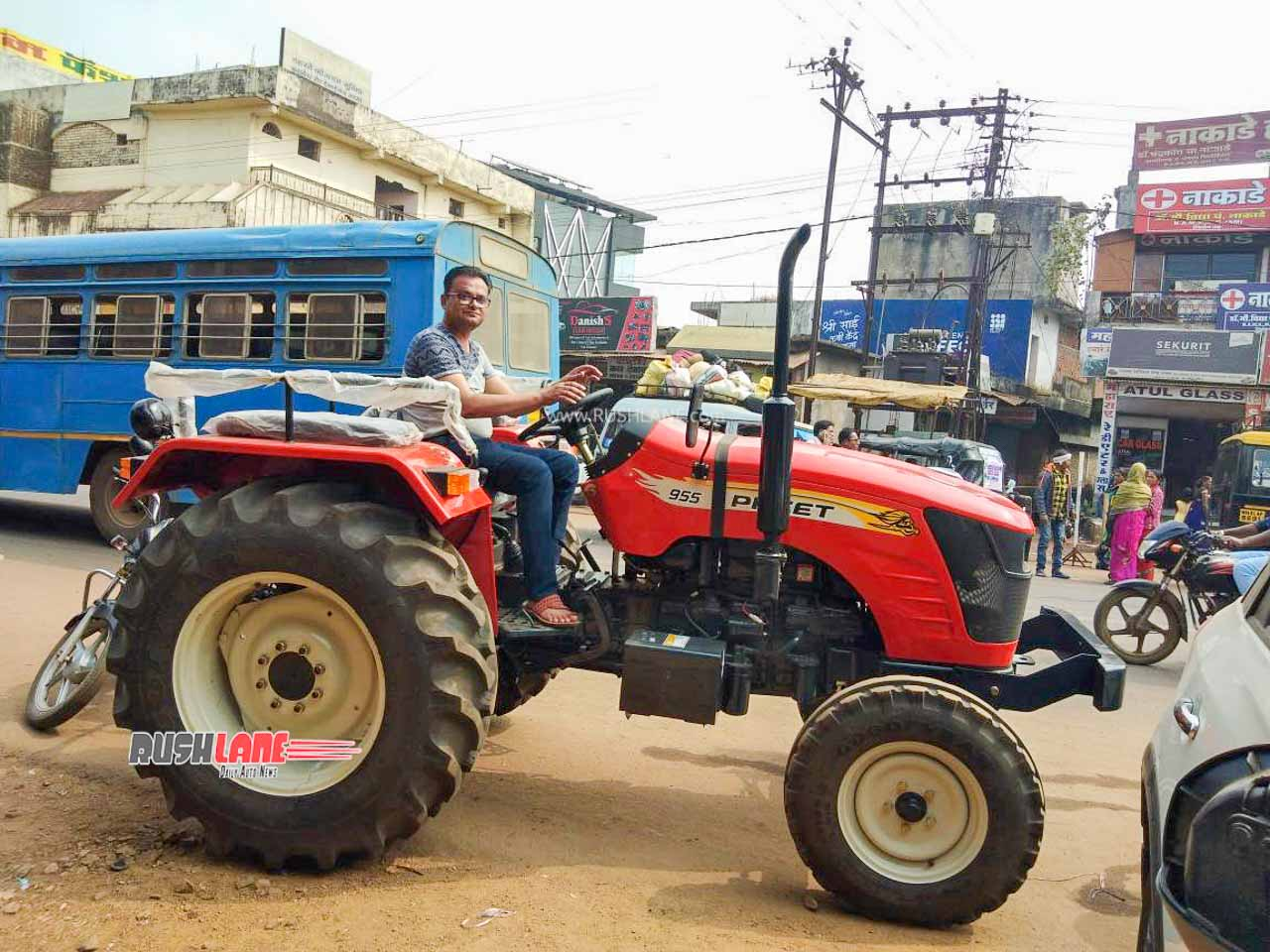 New tractor delivery