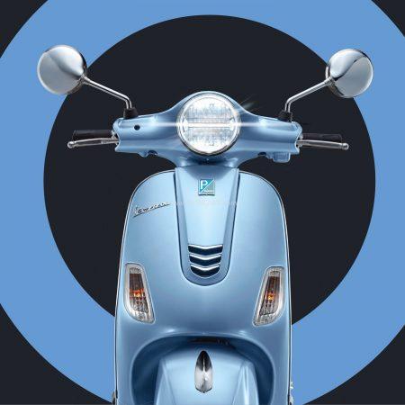 Vespa scooter facelift