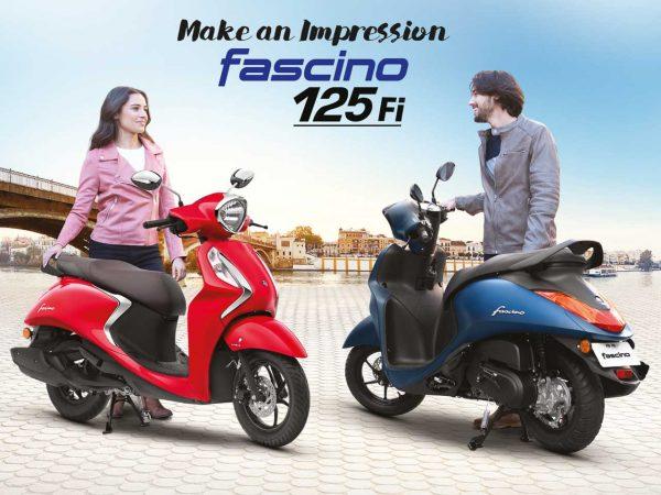 Yamaha Fascino BS6