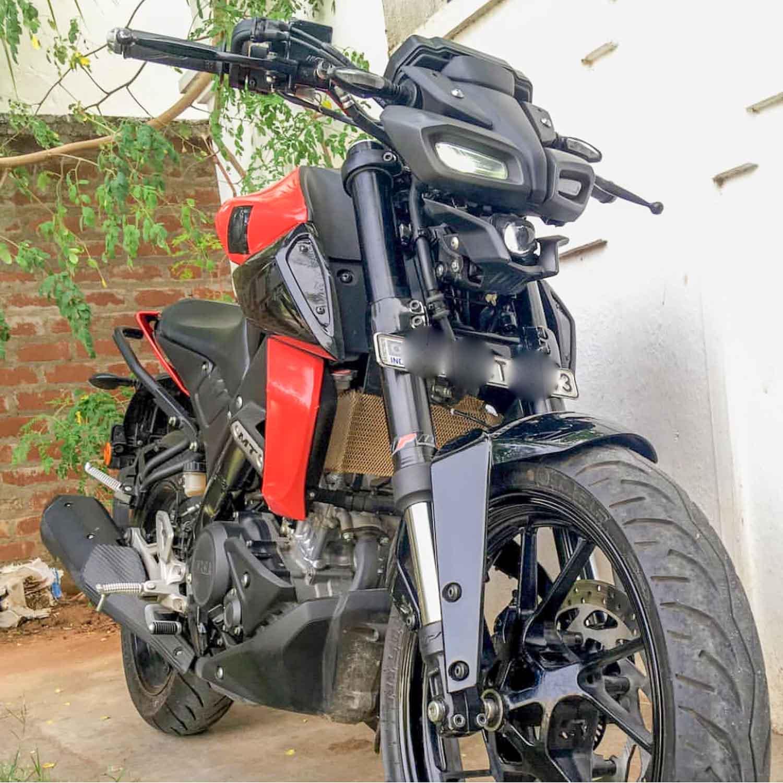 Yamaha MT15 USD forks