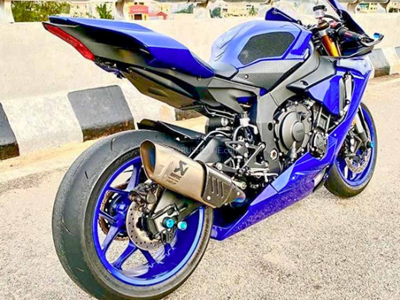Yamaha R1 confiscated by Bangalore Police