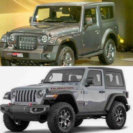 2020 Mahindra Thar Copycat Jeep Wrangler