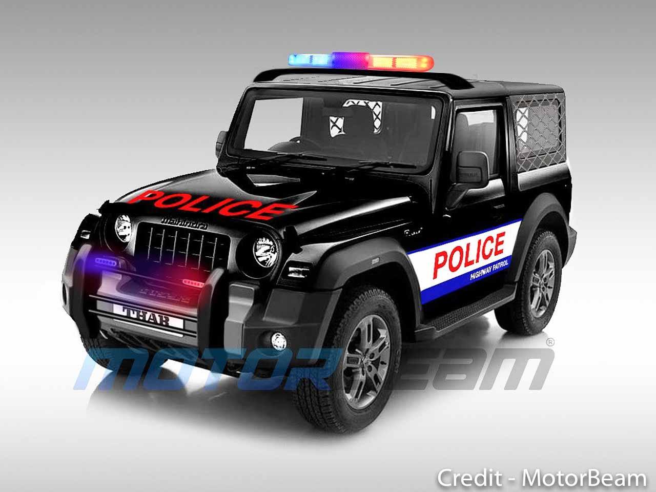 2020 Mahindra Thar Police