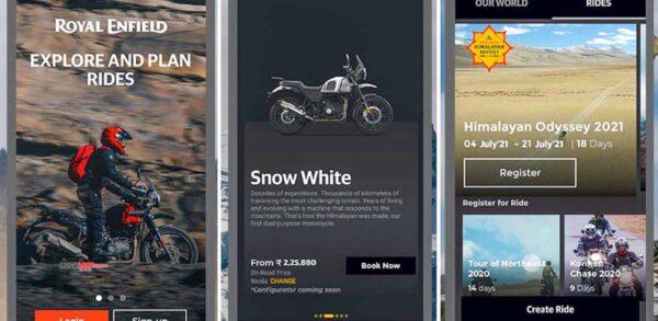 Royal Enfield Mobile App