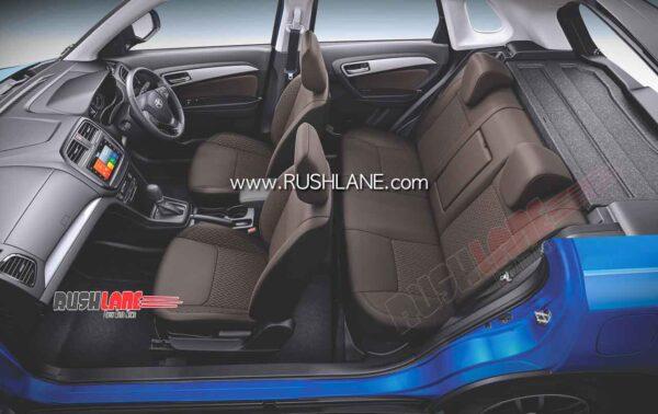 Toyota Urban Cruiser Interiors
