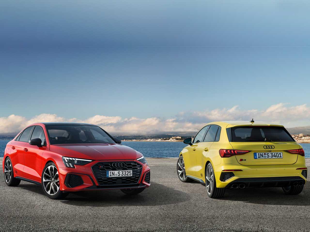 2021 Audi S3 debuts globally in Sedan & Sportback variants