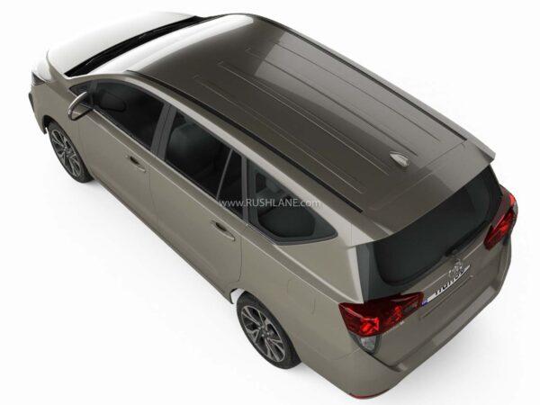 2021 Toyota Innova Crysta Facelift