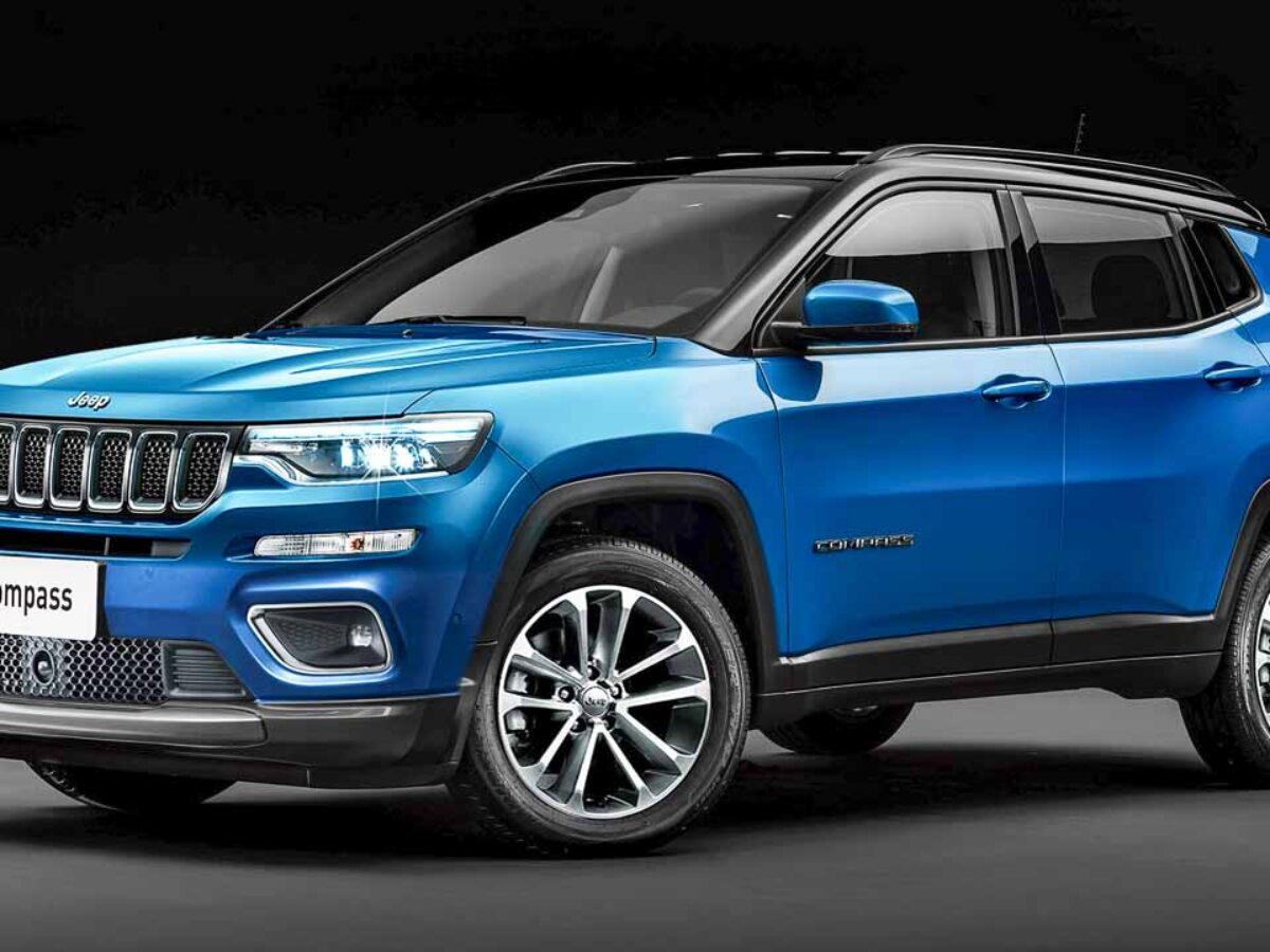 2021 Jeep Compass 5 And 7 Seater Suv Digital Render