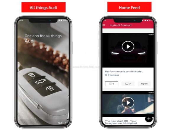 Audi India - One App for All