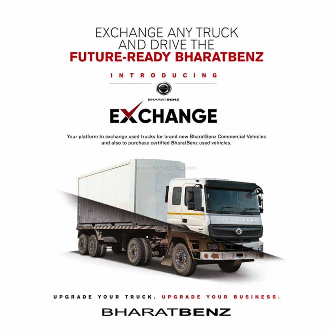 BharatBenz Exchange Program