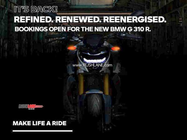 BS6 BMW G310 Teaser