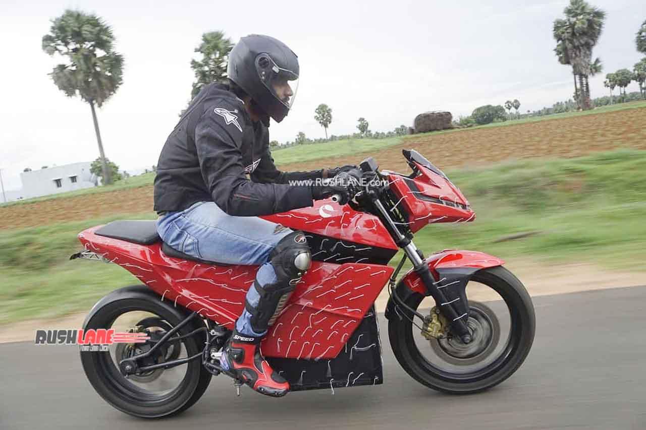 eMotion Surge electric motorcycle
