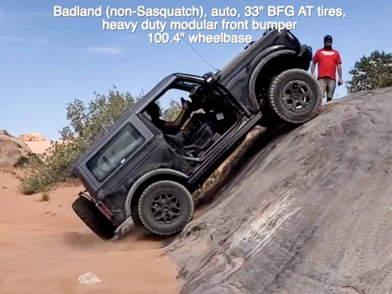 Ford Bronco off-road