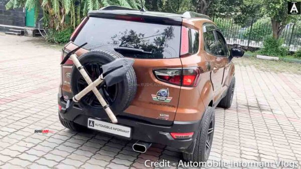 Ford EcoSport Modified