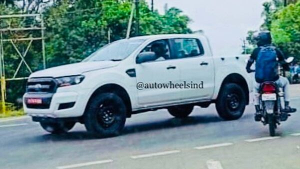 Ford Ranger Spied in India
