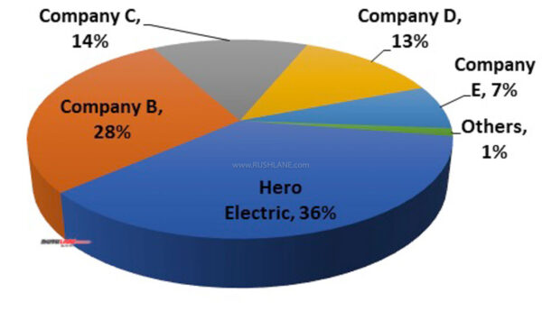 Hero Electric Market Share