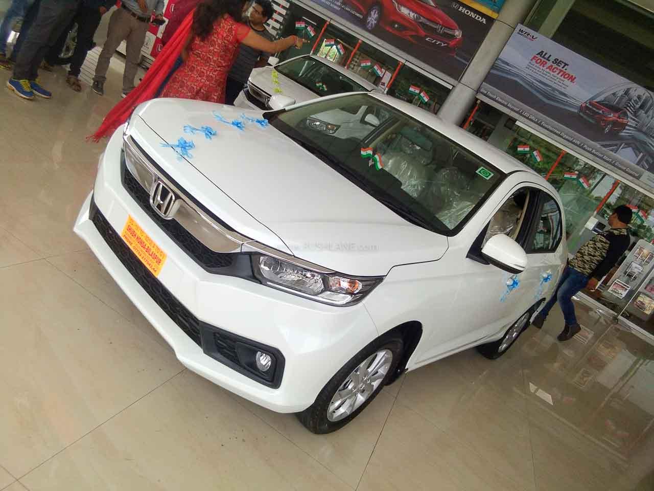 Honda Amaze sales record