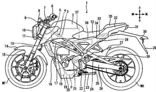 Honda CB 125R Electric
